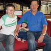<b>12 Dec 2010</b> Zac and Peter with Finn (in Zac's old hat)