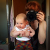 <b>23 Dec 2010</b> Cheeky monkey in the mirror