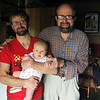 <b>21 Dec 2010</b> No doubt Finn will get his beard and glasses soon - with Papa and Zaida