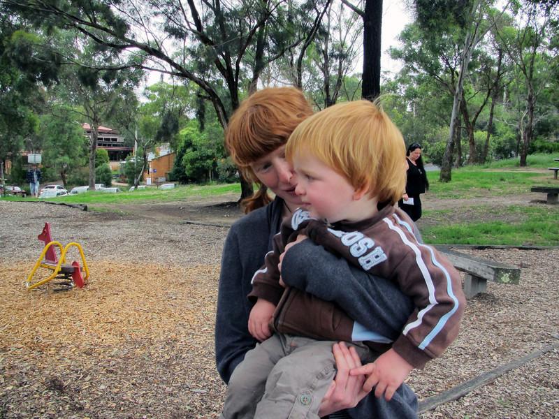 <b>12 Dec 2010</b> Angus - much heavier than Finn