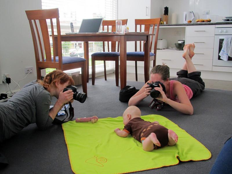 <b>11 Dec 2010</b> The paparazzi (Megan and Sarah)