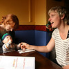 <b>18 Dec 2010</b> Megan, Finn and Jackie, out for iced chocolates in Richmond