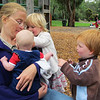 <b>12 Dec 2010</b> Penny and Finn, being swarmed by Abby and Angus
