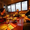 <b>13 Dec 2010</b> Helen, Dyon and Alex - dinner in Northcote