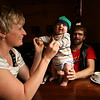 <b>18 Dec 2010</b> Jackie, Finn and Alex, out for iced chocolates in Richmond