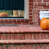 Pumpkin on Porch