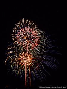 Fireworks in Anthem
