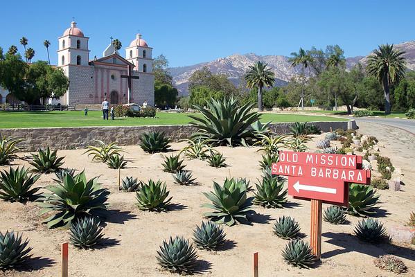 Old Santa Barbara Mission, California