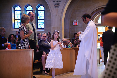 Mary's first communion - 19-May-2012 Filename: TOP_2276