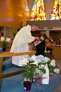 Receiving Communion