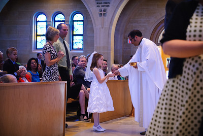 Mary's first communion - 19-May-2012 Filename: TOP_2275