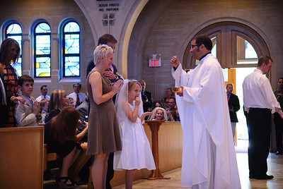 Mary's first communion - 19-May-2012 Filename: TOP_2268