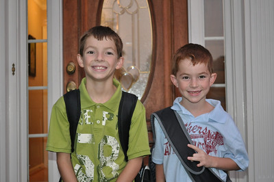 First Day of School 2010-2011
