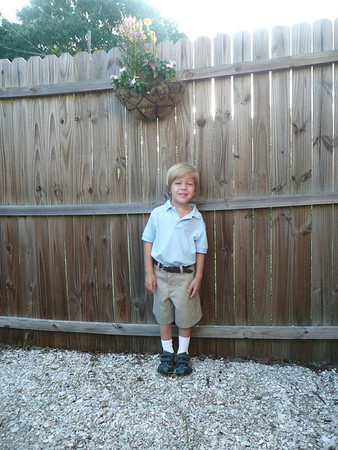 First Day of School August/Sept 2009