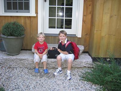 First Grade, Day 1