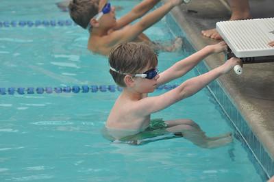 First swim meet (James)
