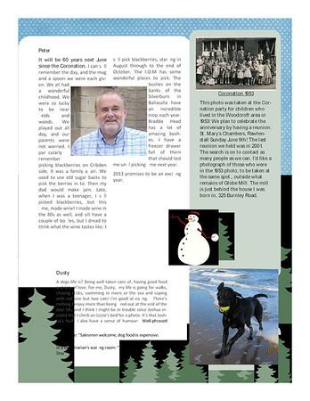 Christmas 2012 Fisher Family Newsletter