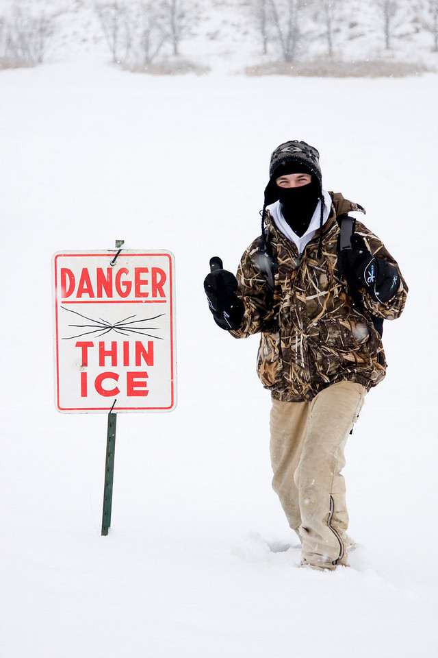 """If thin ice is 12"""" thick"""