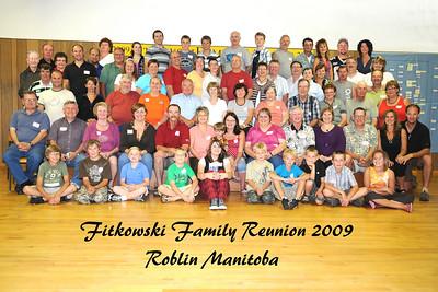Fitkowski Family Reunion 2009