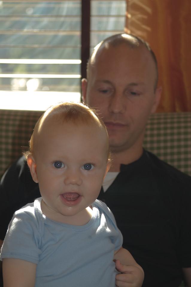 Reynir Helgi og pabbi