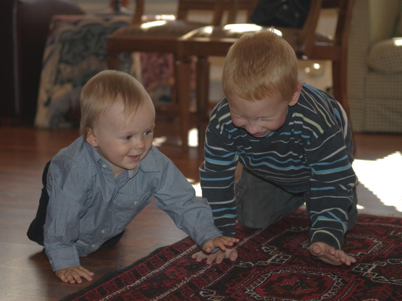 Frændur - Björn Kári og Leifur Ernir