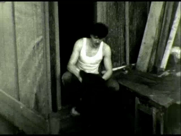 Я и Дик. <br /> п. Депутатский, Якутия<br /> Весна 1986 г.