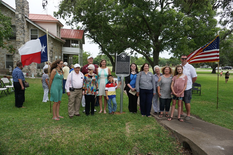 The Amslers and Fisks   annual  gathered in Flatonia  to attend this ceremony.