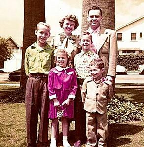 Fleischman Family - 1954