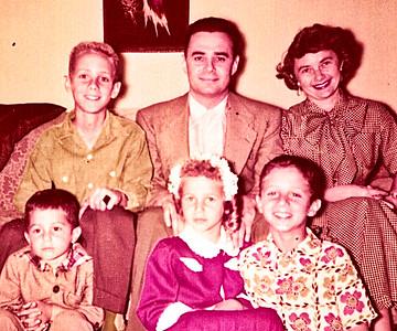 Fleischman Family - Circa 1954