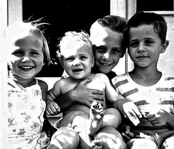 Fleischman Kids - Circa 1953