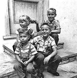 Fleischman Kids - Circa 1955