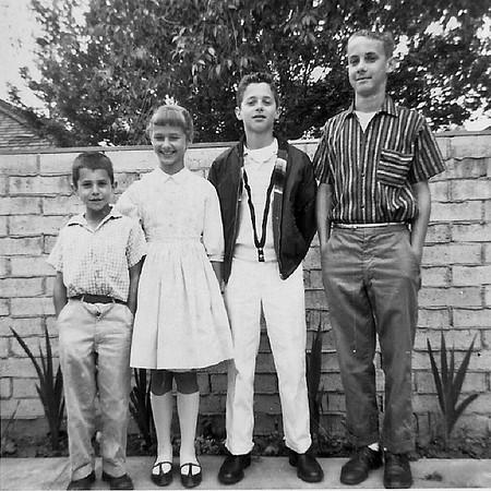 Fleischman Kids - Circa 1958