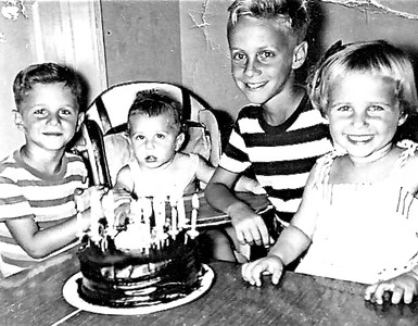 Fleischman Kids - Circa 1952