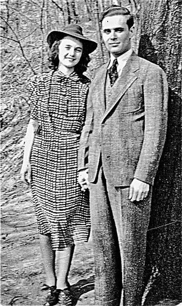 Dorothy and Charles Fleischman - Circa 1942