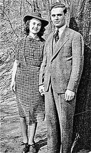 Dorothy and Charles Fleischman - Circa 1942