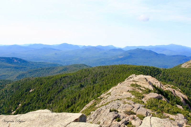 A good view of the White Mountain ranges