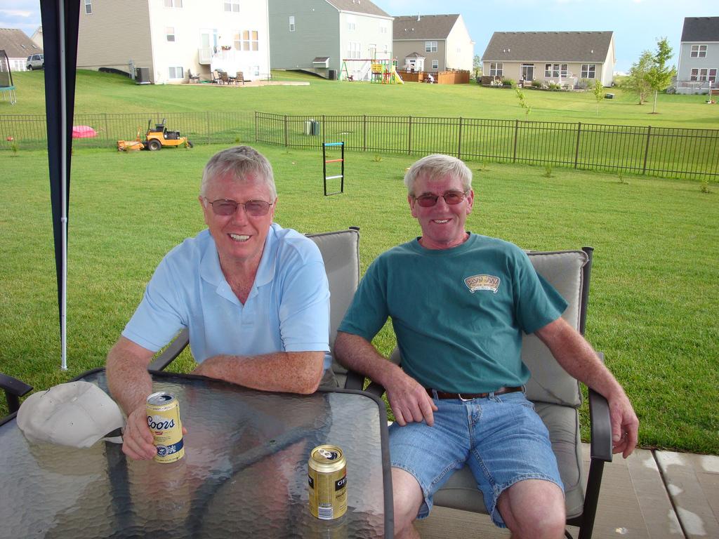 Chris and Mike Flood