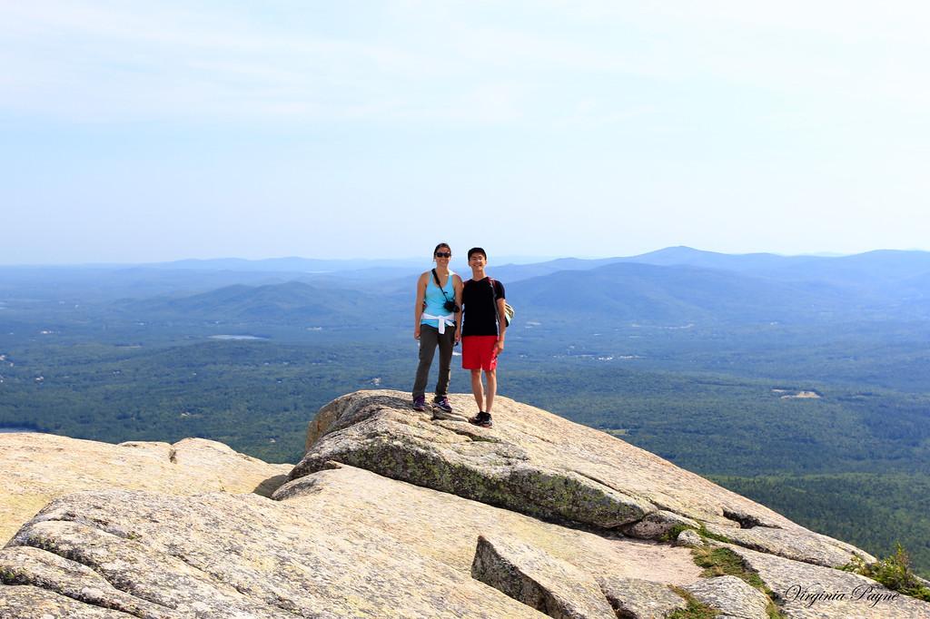 At the top of Chocorua