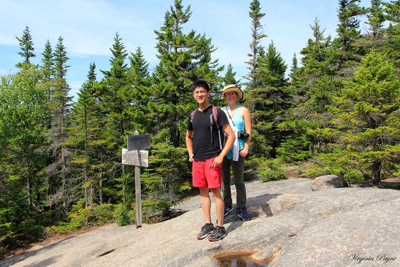 Mid-way to Mount Chocorua