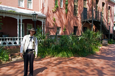 Deputy Sherrif at The Old Jail in St. Augustine