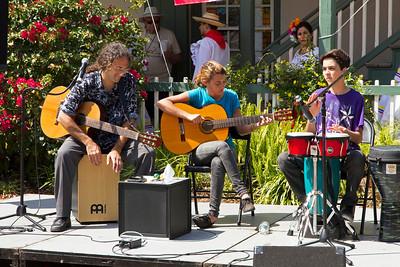 Musicians in St. Augusine square