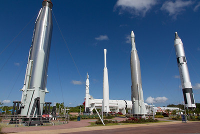 Rocket Garden at Space Center