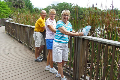 Enjoying the view at Merritt Island Wildlife Refuge