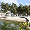 The lagoon at the Kon-Tiki Resort.