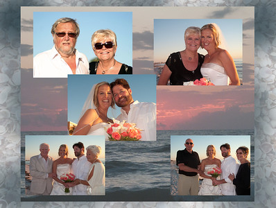 Barbara and Mike wedding. St  Petersburg Beach, Florida, November 2, 2012
