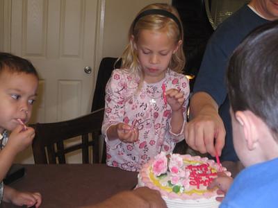 Liz's 6th Birthday
