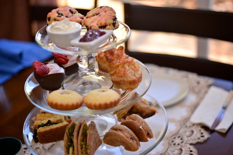 Linnea's Valentine-themed high tea