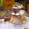 Linnea's Italy-vacation-themed high tea