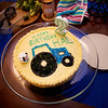 Hal's tractor birthday cake