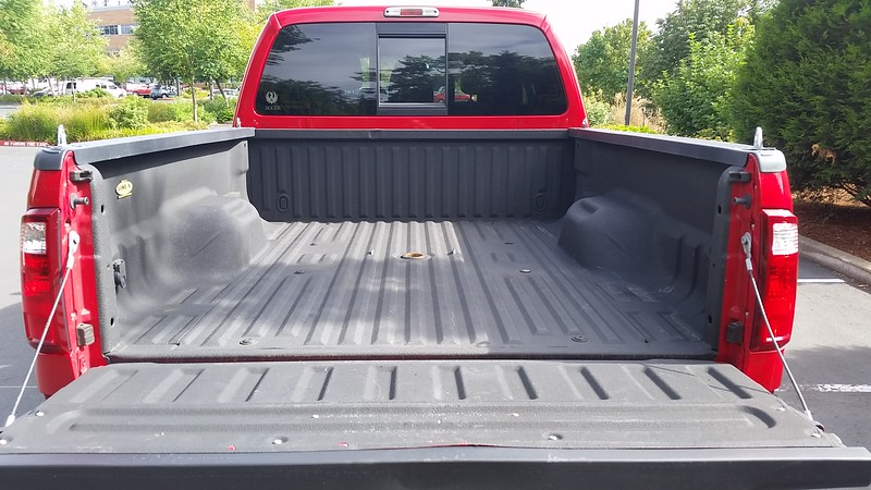 Bed liner in perfect shape.